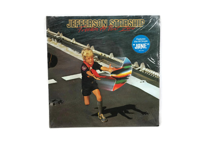JEFFERSON STARSHIP - Vintage Vinyl Record Album - FREEDOM AT POINT ZERO