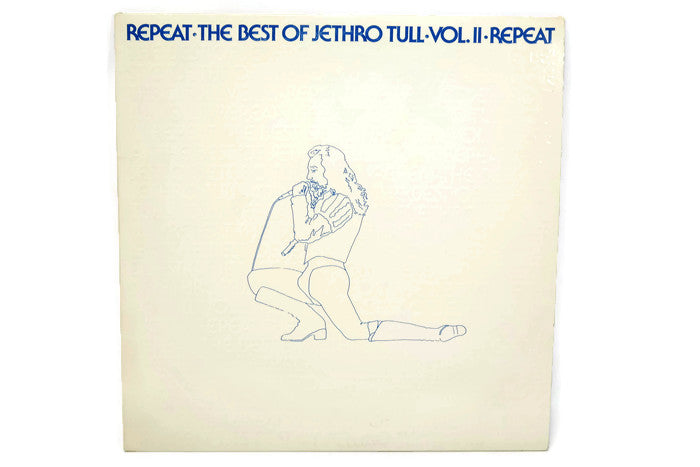 JETHRO TULL - Vintage Record Vinyl Album - REPEAT / THE BEST OF JETHRO TULL