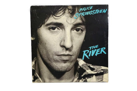 BRUCE SPRINGSTEEN - Vintage Vinyl Record Album - THE RIVER