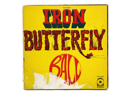 IRON BUTTERFLY - Vintage Vinyl Record Album - BALL