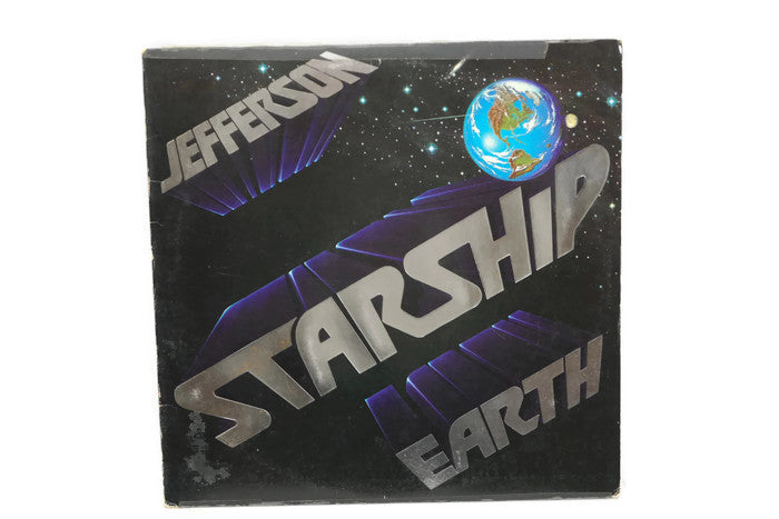 JEFFERSON STARSHIP - Vintage Vinyl Record Album - EARTH