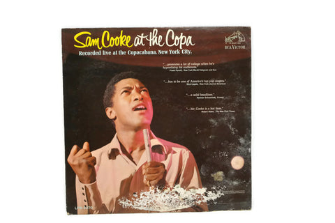 SAM COOKE - Vintage Vinyl Record Album - SAM COOKE AT THE COPA