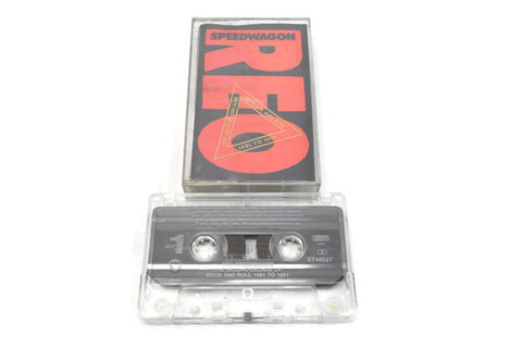 REO SPEEDWAGON - Vintage Cassette Tape - DECADE OF ROCK AND ROLL 1981-1991