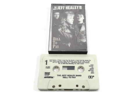 THE JEFF HEALEY BAND - Vintage Cassette Tape - HELL TO PAY