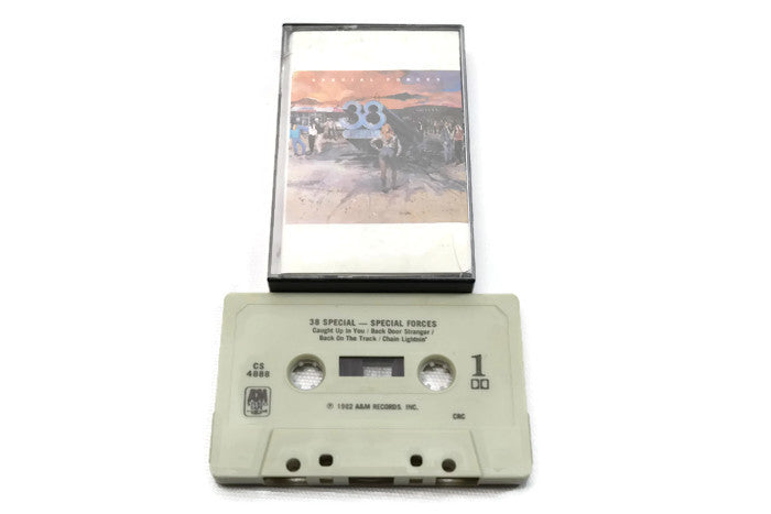 .38 SPECIAL - Vintage Cassette Tape - SPECIAL FORCES