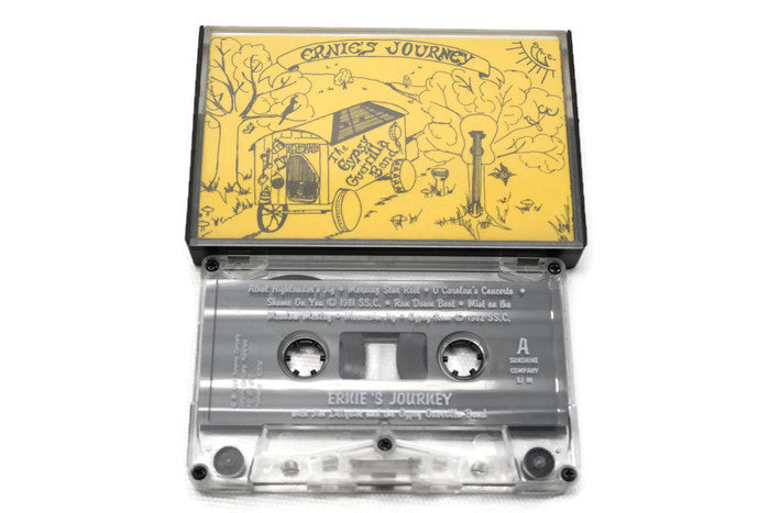 GYPSY GUERILLA BAND - Vintage Cassette Tape - ERNIE'S JOURNEY