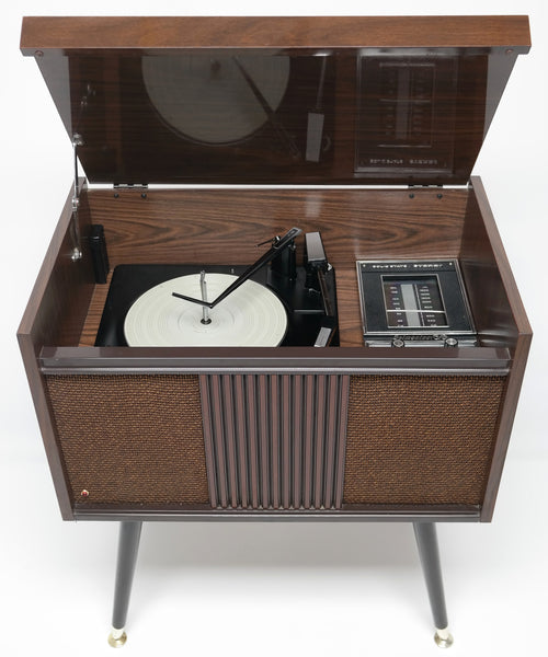 Mcm Stereo 60 S Mid Century Consolette Record Player