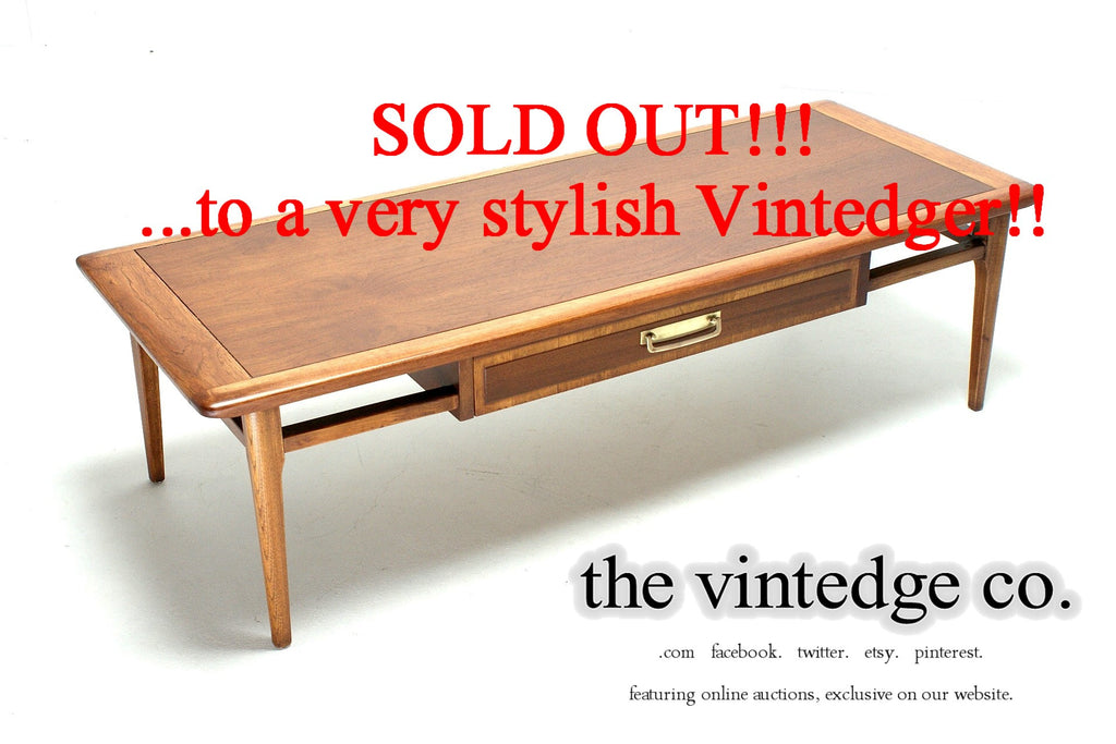 SOLD - 1960's Mid Century Coffee Table