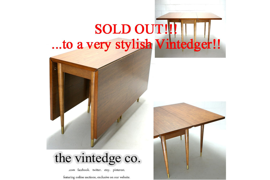 SOLD - Mid Century Modern Dining Table