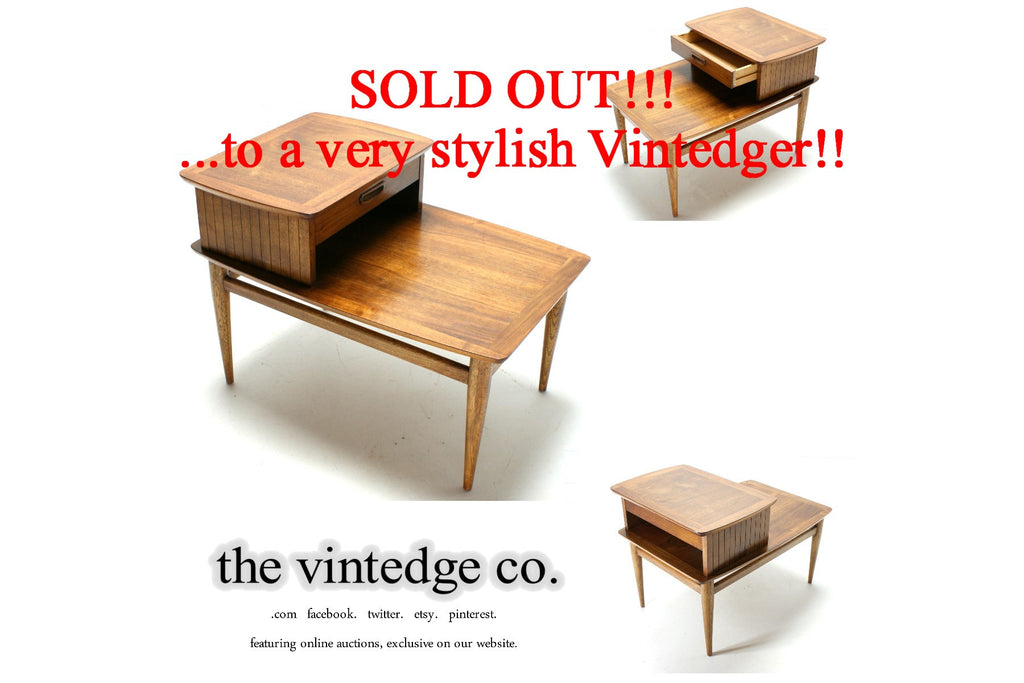 SOLD - 1960s Mid Century Side Table