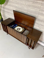 **NOW AVAILABLE** ZENITH Louver Door 60s Record Player Changer Stereo Console AM FM Bluetooth Alexa