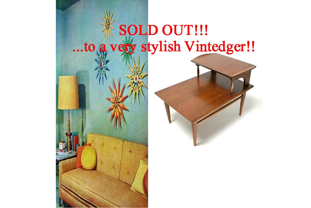 SOLD - 1960s MCM Side Table