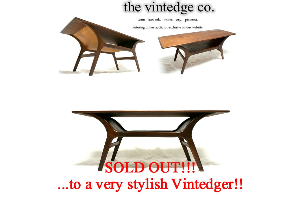 SOLD - Mid Century Modern 60's Coffee Table