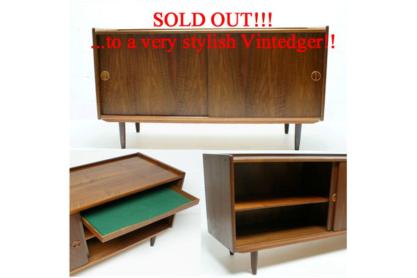 SOLD - MCM Sideboard Console