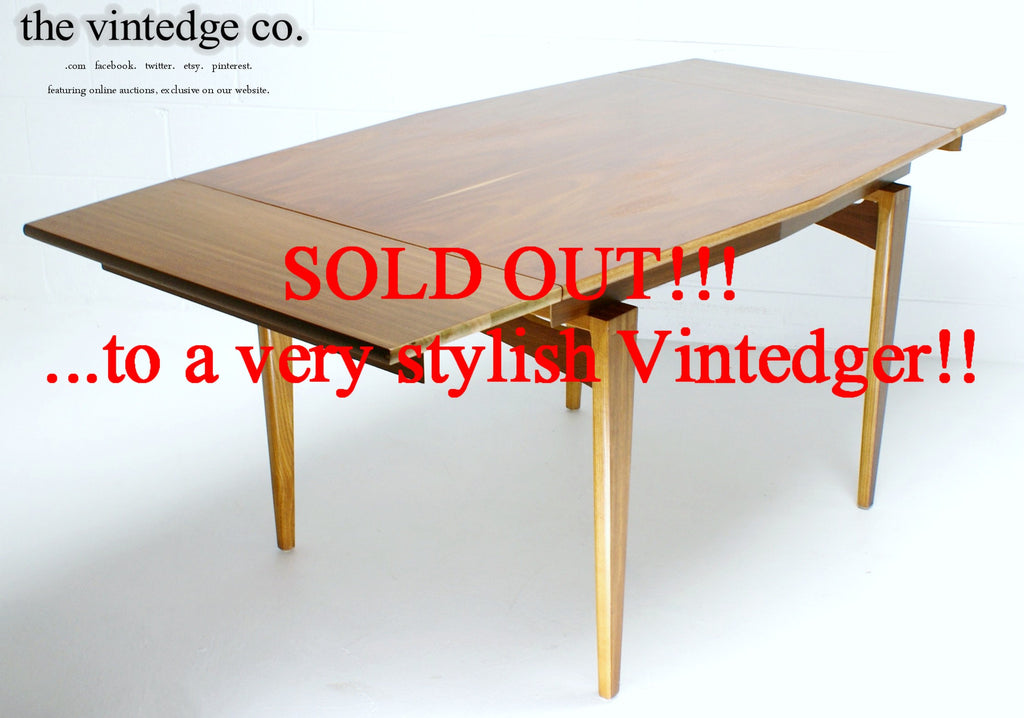 SOLD - MCM 60s Dining Table / Leaf