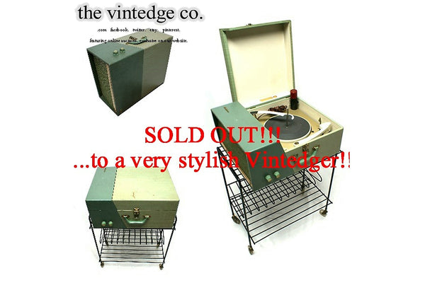 SOLD - MCM Stereo Console