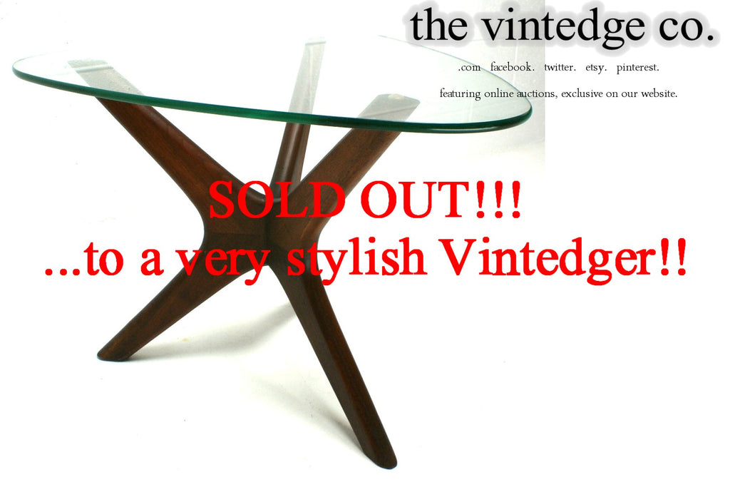 SOLD - 1950's MCM Pearsall Side Table