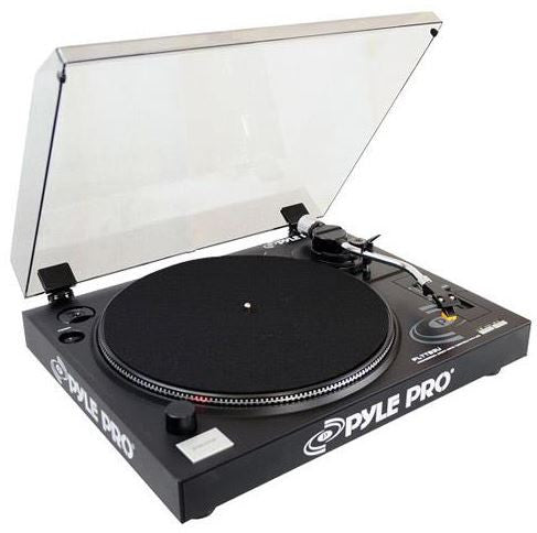 Pyle Pro turntable w- Built in Preamp Black