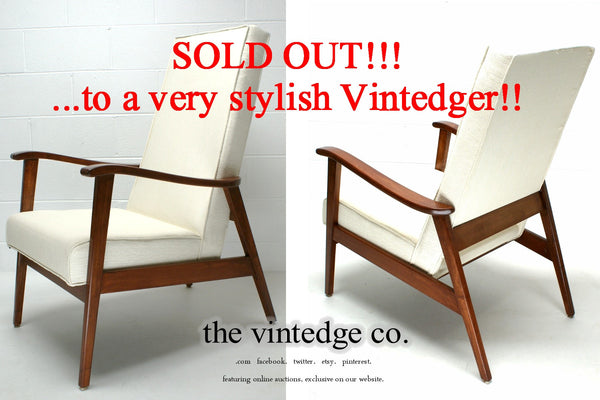 SOLD - Mid Century 60s Lounge Chair