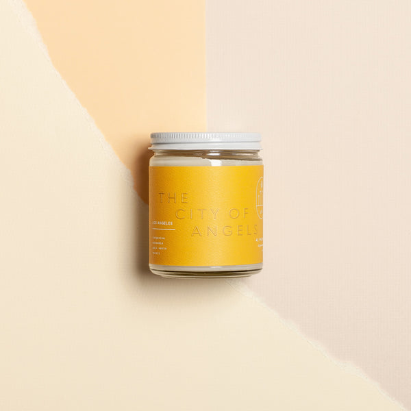 42 Pressed | CITY OF ANGELS candle