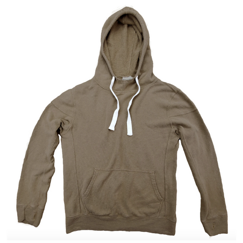 Jungmaven | MAUI hooded sweatshirt | coyote