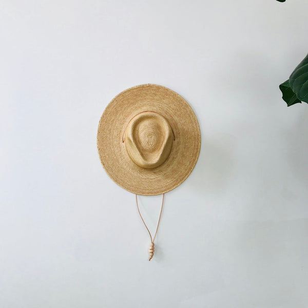 west perro | DESERT SUN HAT | golden guatemalan palm