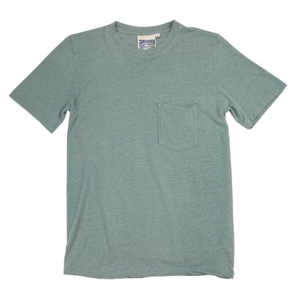 Jungmaven | JUNG Pocket Tee | clay green