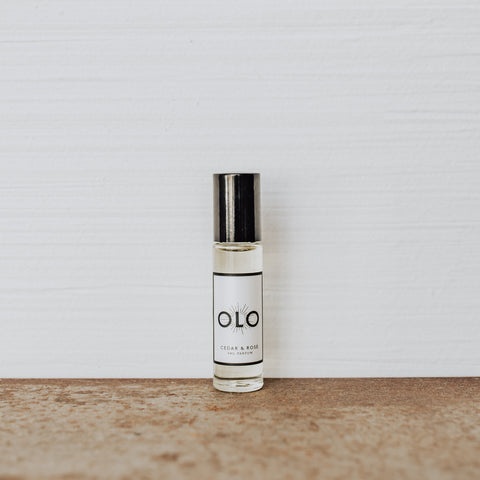 OLO Fragrance- CEDAR & ROSE