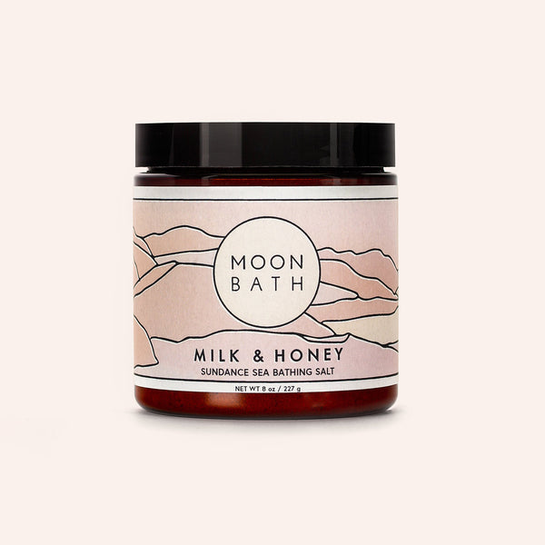 Moon Bath | Milk & Honey Bath Salt| 8oz