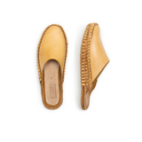 Mohinders | WOMEN'S SOLID SLIDE | natural leather
