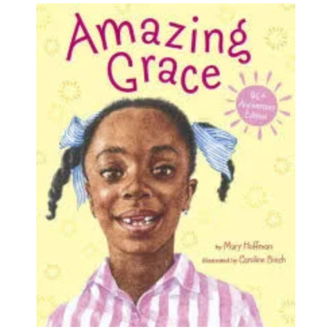AMAZING GRACE | Mary Hoffman