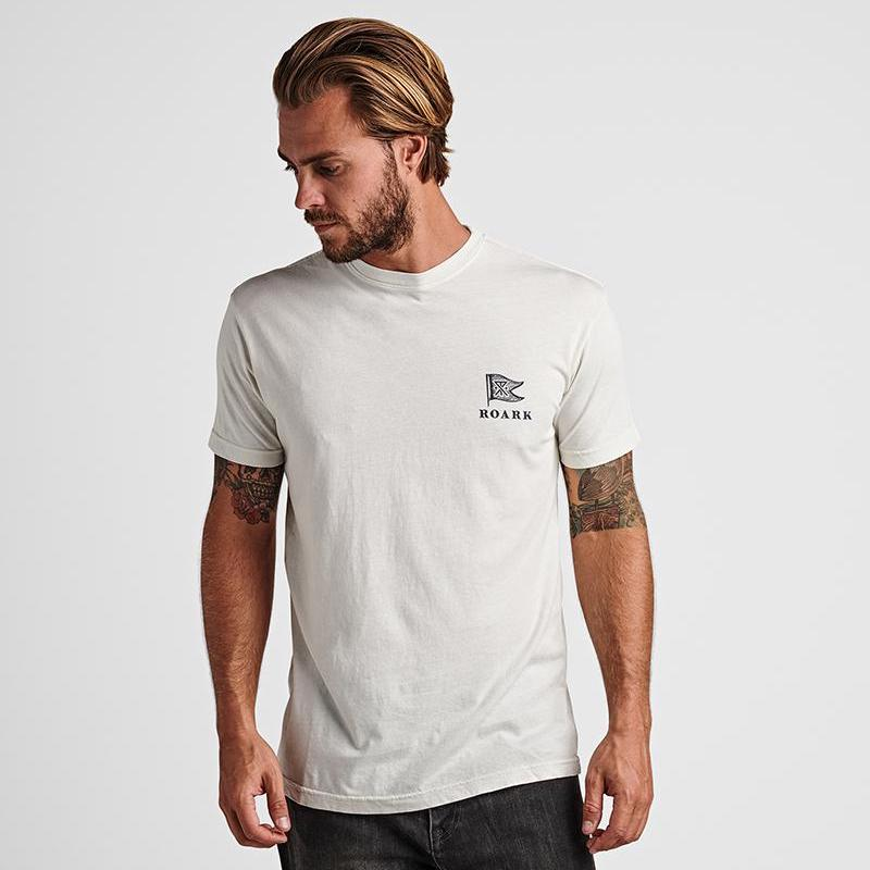Roark | BOTHY BASE CAMP tee | white