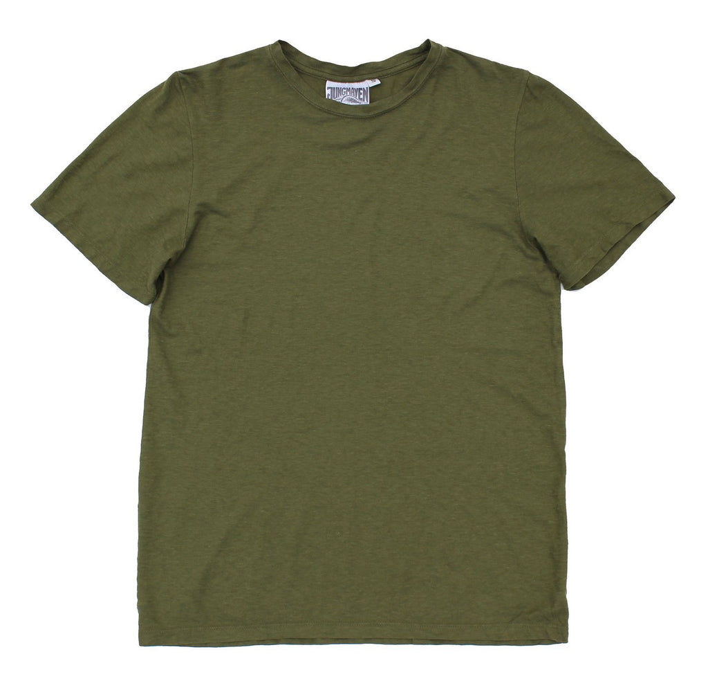 Jungmaven | BASIC tee | army