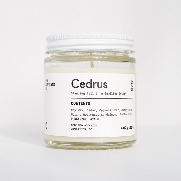 The Contents Co. | CEDRUS candle