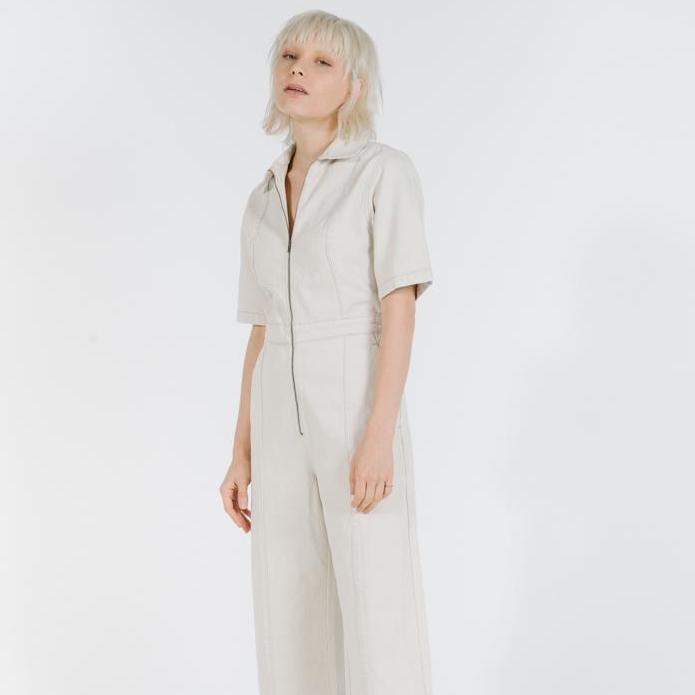 THRILLS | PAINTER COVERALL | vintage bone