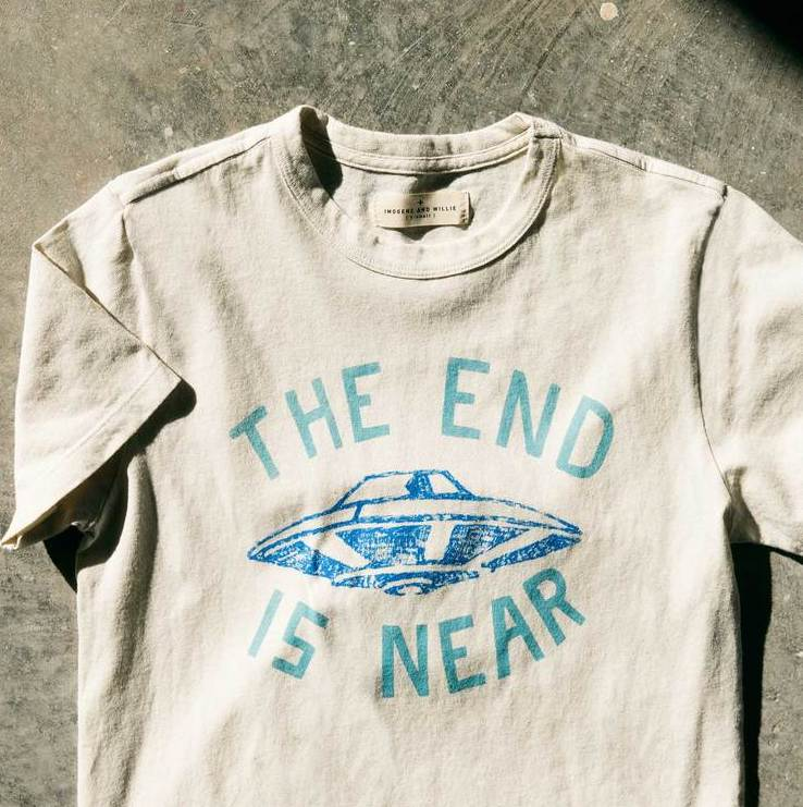 imogene + willie | END IS NEAR TEE