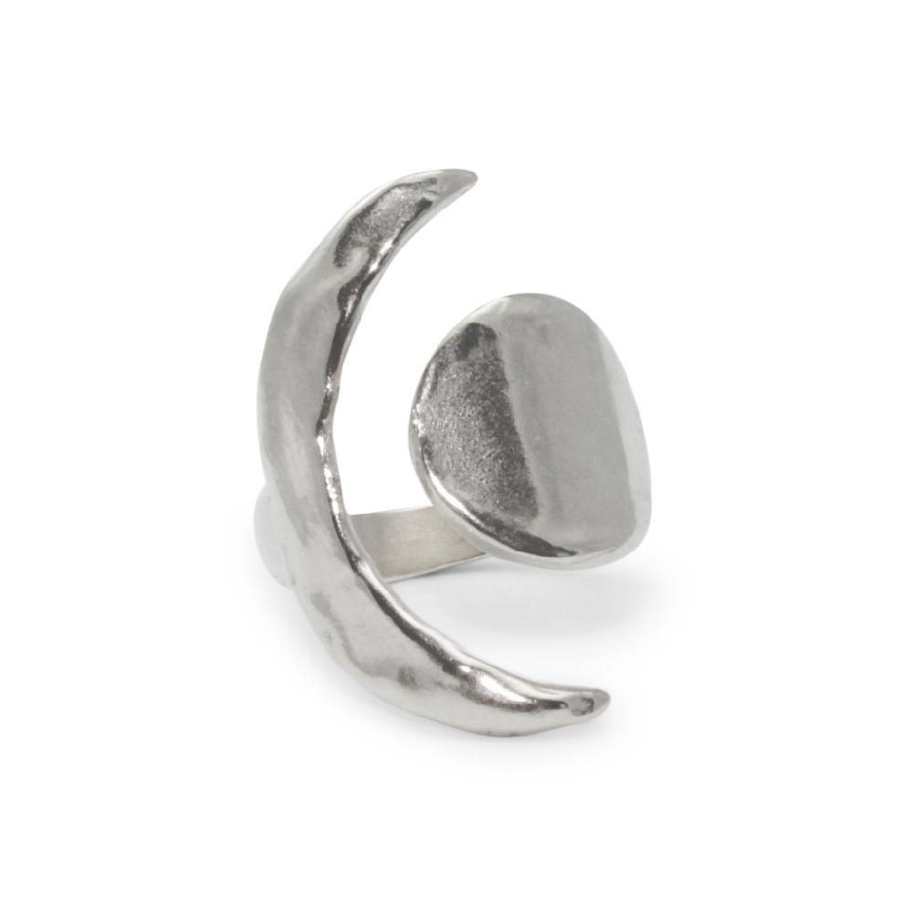 Amanda Hunt | EQUINOX RING | silver