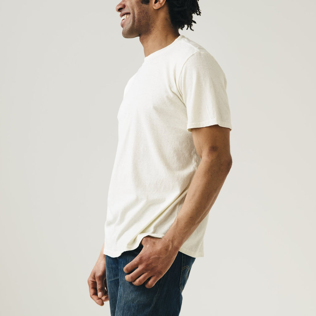 Jungmaven | JUNG tee | washed white