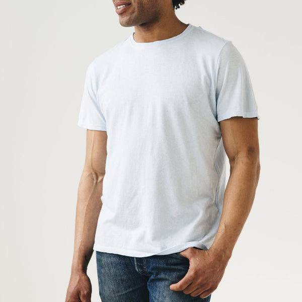 Jungmaven | BASIC tee | washed white