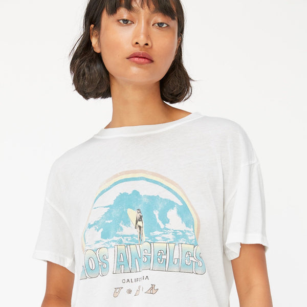 LACAUSA | KAI TEE | whitewash surfer graphic