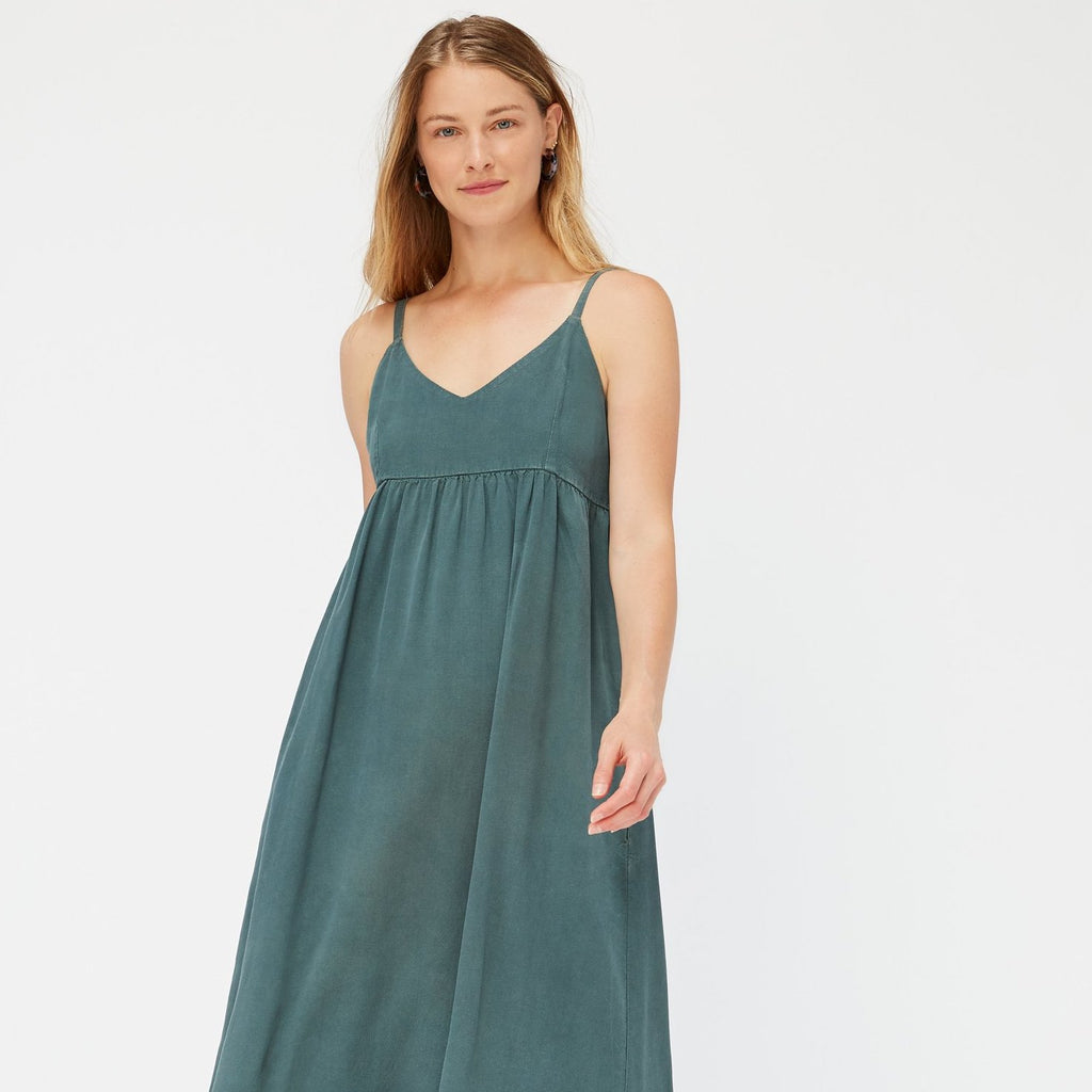 LACAUSA | INDIO DRESS | seaweed