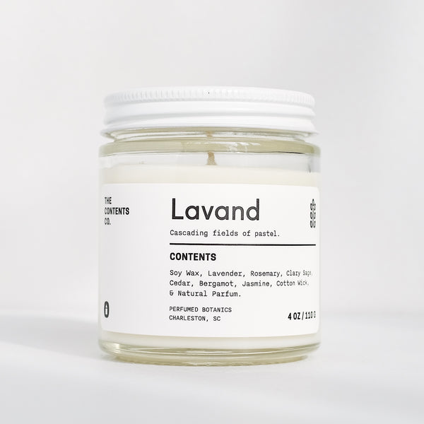 The Contents Co. | LAVAND candle