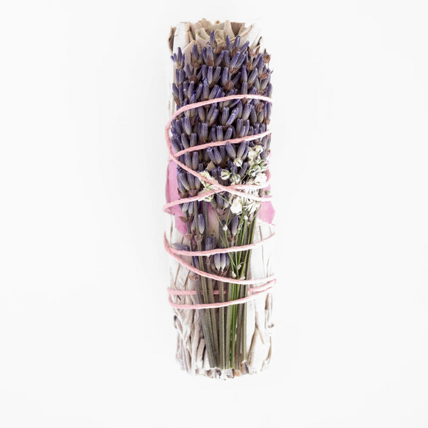 Kindred Row | SAGE SMUDGE STICK | lavender calming california
