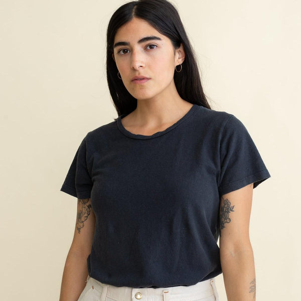 Jungmaven | LOREL tee | washed black