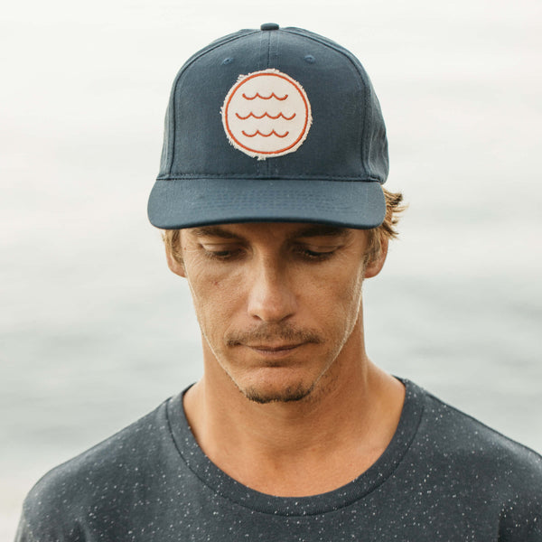 Mollusk | WAVE PATCH HAT | navy