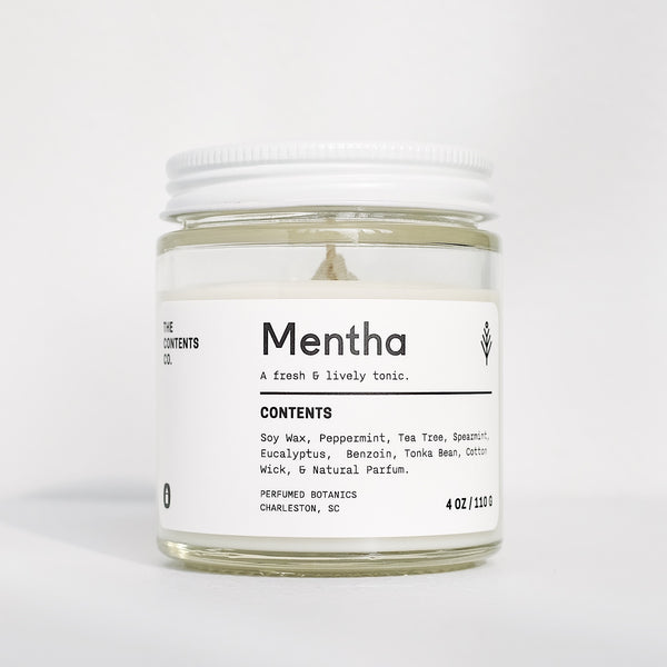 The Contents Co. | MENTHA candle