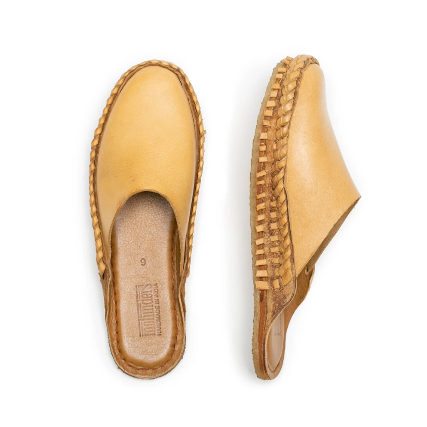 Mohinders MEN'S CITY SLIPPER | solid tan