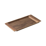 KINTO | SEPIA NONSLIP TRAY | walnut 14 x 7in