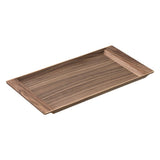 KINTO | SEPIA NONSLIP TRAY | walnut 17 x 8in