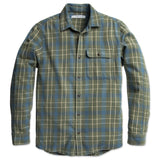 Outerknown | RAMBLER shirt | mangrove pacific plaid